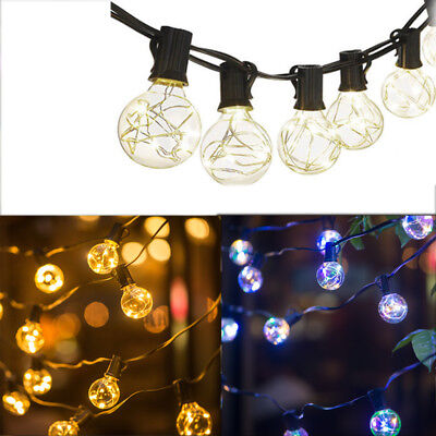 18Ft G40 LED String Bulbs Light Outdoor Night Light For Party Wedding Holiday