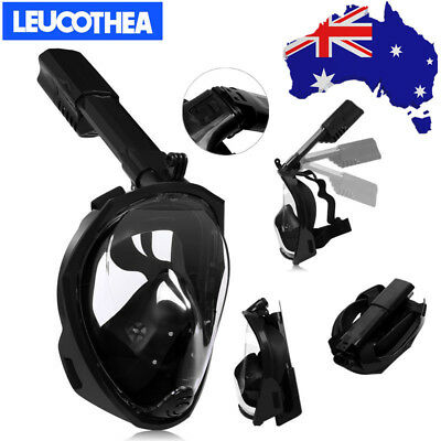 Kids Adults Foldaway Flat Surface Full Face Snorkel Diving Mask Swimming Socks