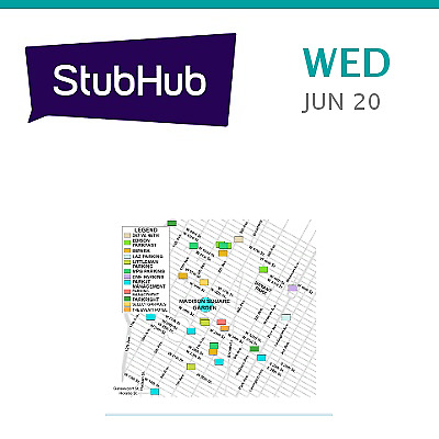 PARKING PASSES ONLY 30 Seconds to Mars Tickets - New York Madison Square  Garden Parking Lots | 333 W  26th S