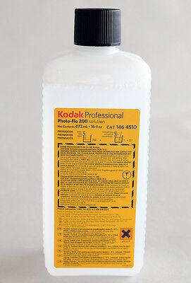 "Kodak Photo-Flo 200 Wetting Agent ""500ml"" - For Film"