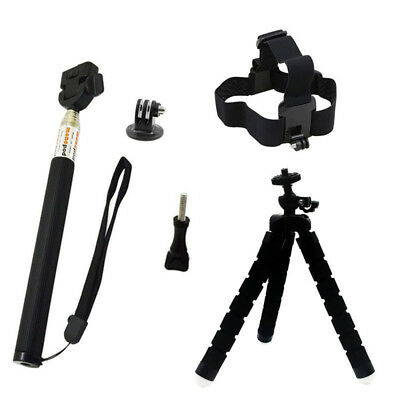 Selfie Stick Accessories set for Gopro Hero 7 6 5 4 3 Action Camera SJCAM SJ4000