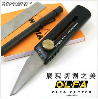Japan OLFA Limited Series CK Knife LTD-06 Cutter Leathercraft Tool Leather blade