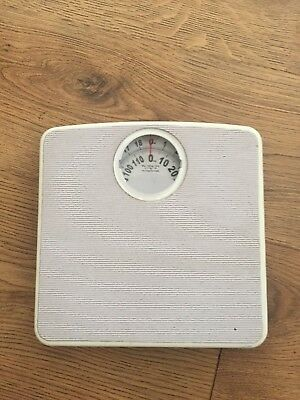 120Kg/19 Stone Bathroom Scale Weighing Body Weight Mechanical Home Kg Stones
