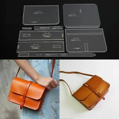 Acrylic Template Pattern For messager shoulder bag leather craft pattern YKL-99