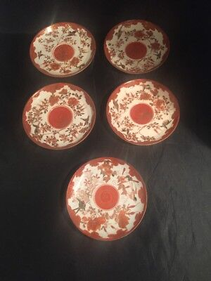 Vintage Antique Chinese Japanese Oriental Plates Saucers