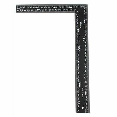 Japan Shinwa Tri Framing Set Square Right Angle Straight Edge L Ruler 30Cm*20Cm