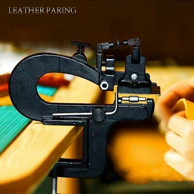 Leather Craft Edge Skiving Machine Leather Splitter Skiver Paring Tool DIY 809BP