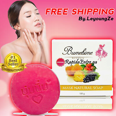 Bumebime Soap Skin Face Body Whitening Lightening Bleaching Natural Double White