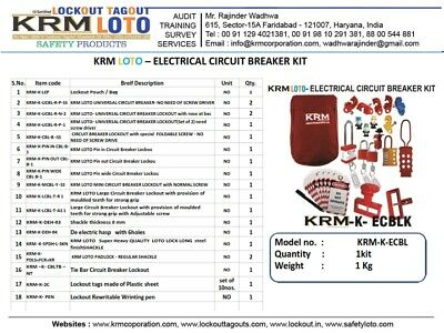 Krm Loto - Electrical Circuit Breaker Kit