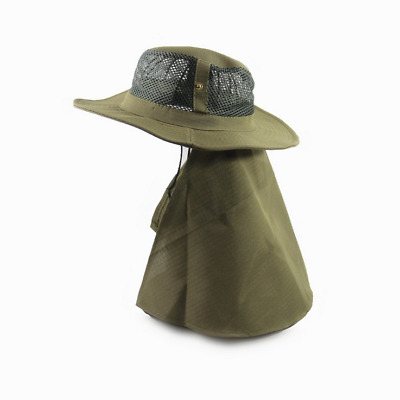 New Fishing Hat Sun Protection Cap Neck Face Flap Hat Outdoor Camping  Breathable ad146f93d0d5