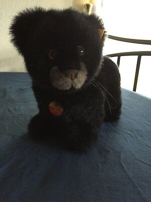 """Steiff """"Taky""""  Baby Panther"""