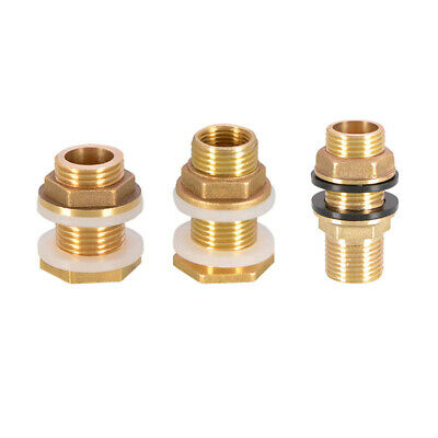 "Brass Male/Female Thread Water Tank Connector Copper Water Tower Joint1/2""3/4""1"""