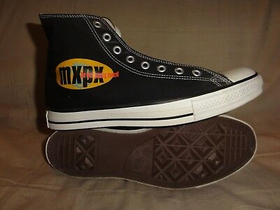 Vintage Converse All Stars Mxpx Band High Tops Made In Usa Size 10.5 Mens Box