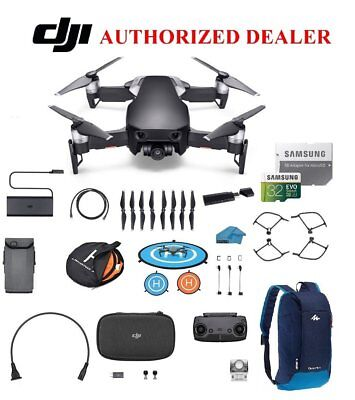 DJI Mavic Air Drone - Quadcopter with 32gb SD Card - 4K Must Have accessories