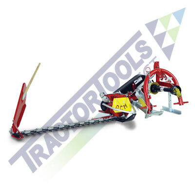 TX59 Sickle Bar Mower+Mechanical Lift by DCM for compact tractors