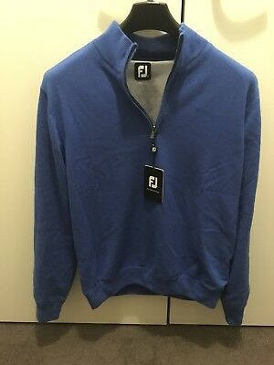 Footjoy Lambswool Lined 1/2zip Pullover MED