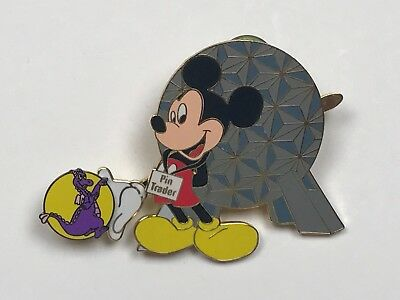 Disney Pin Lot D57 Mickey Mouse Pin Trader with Figment Pin Celebration 2001 LE