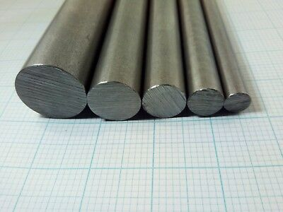300mm Round Steel Bar EN1A, EN1A Leaded, EN3B, EN8. Custom machining available.