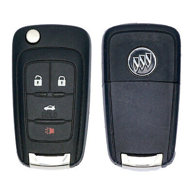 New Gm Buick Flip Key Switchblade Keyless Remote Start Fob Transmitter 13500227
