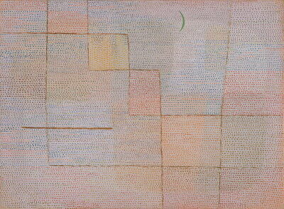Paul Klee Clarification Giclee Canvas Print Paintings Poster Reproduction
