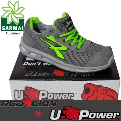 Scarpe Antinfortunistica UPOWER Red Lion SUMMER S1P SRC U-Power Estive Tela