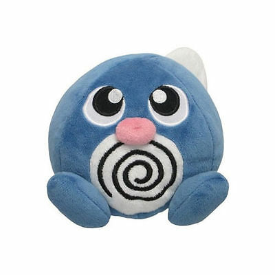 "Sanei Pokemon Go Series All Star Collection (PP05) Poliwag 4.5"" Stuffed Plush"