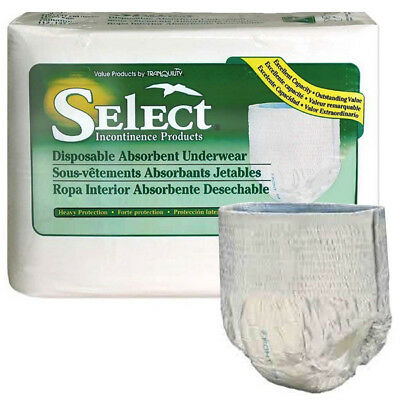Select disposable heavy protection youth underwear 38 - 65 lbs part no. 2602 (96