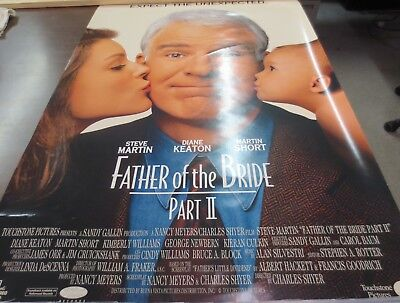 Father of the Bride Part 2 1995 Authentic Original Movie Poster : Steve Martin