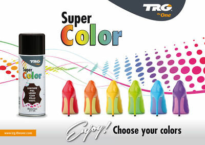 TRG Super Color Spray Paint  Shoes Boot Sofa Seat Leather Vinyl & Canvas 150 ML