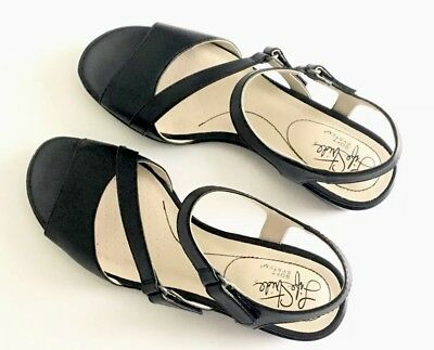 9e18555f290 LIFE STRIDE WOMEN S Miranda Sandal Shoe Black Size 7.5 Medium -  25.00