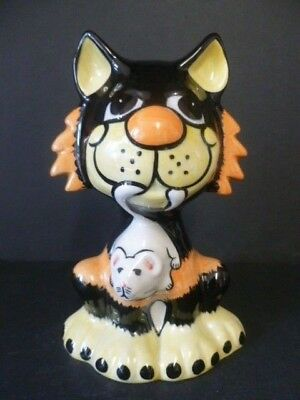 """Lorna Bailey Fireside Cat Large """"ratcatcher"""" Made For Usa Market Extremely Rare!"""