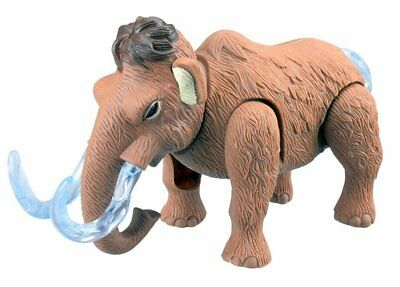 Electronic Walking Wooly Mammoth Toy Elephant With Lights & Sounds
