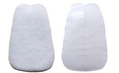 Premier Tongue Pads Self Adhesive Felt Fit Cushion for Shoes 1 Pair In Large