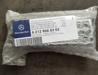 Mercedes Benz Telefonmodul mit Bluetooth SAP V4 A2129065302 Adapter Neu OVP 2018