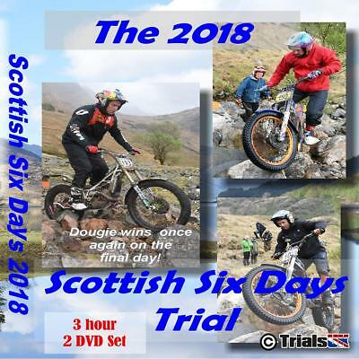 The 2018 Scottish Six Days Trials Review 2 Disc SSDT DVD