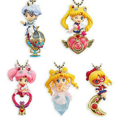 5pcs/set Sailor Moon Twinkle Dolly Charm Keychain Series 4 Figure Keychain