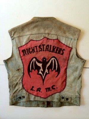 Vintage Motorcycle Club Vest