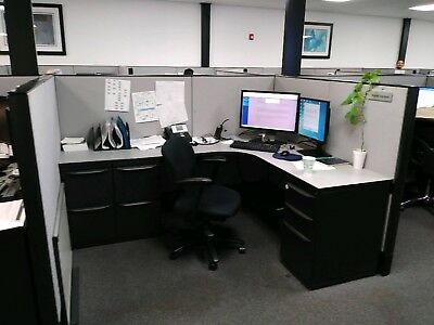 Office Cubicles For Sale- Excellent Cond. Haworth Premise Enhanced-Has All Trim