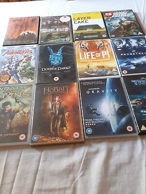 DVD's great selection of 12 DVD's all in very good condition.