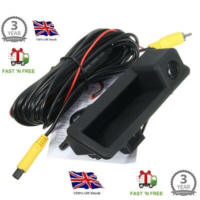 BMW 3&5 Series E46 E90 E91 X5 Car Rear View Reverse Reversing Camera 170°