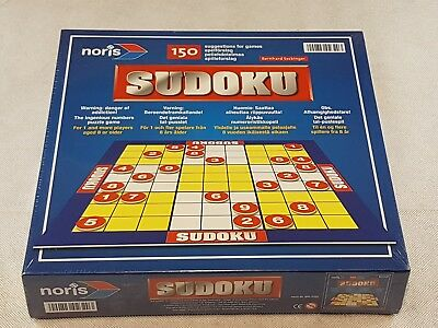 New In Box Sudoku Board Game Family Festive Fun Holidays