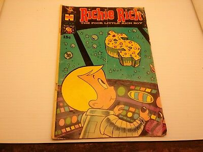 Richie Rich Comic ~ harvey Comic ~ Free Shipping ~ 1970 ~ Jan. No. 89