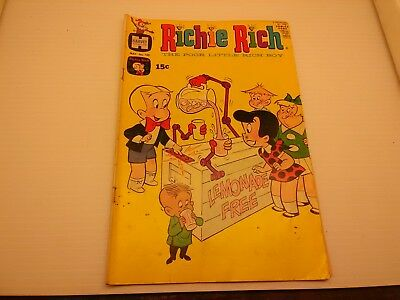 Richie Rich Comic ~ 1971 ~ May No. 105 ~ Harvey Comics ~ Free Shipping !!!!