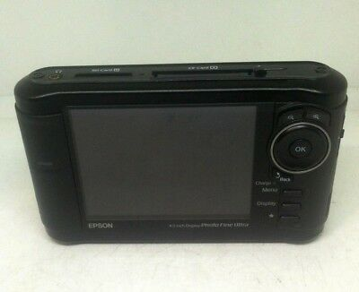 Epson P-4000 4.0 inch Display Multimedia Storage Viewer UNTESTED AS-IS
