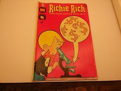 Richie Rich Comic ~ 1969 ~ Harvey Comics ~ 12C ~ Free Shipping ~ June No. 82