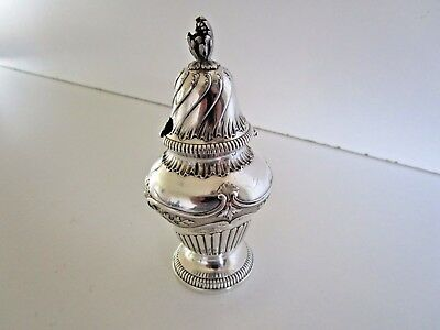 Large French Silver Mustard Pot..Risler & Carre..Paris..Circa 1900..