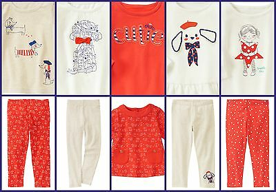 Gymboree NWT Cotton Cotton Tops Tunic Leggings 5 Years Dog Puppy Pup Star Heart