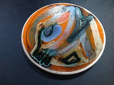 Poole Pottery Delphis pin dish