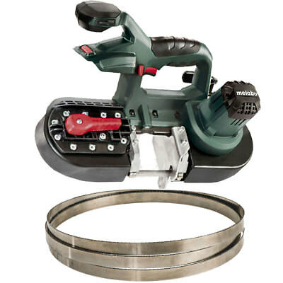 Metabo MBS18LTX25-X1 Band Saw (Bare) with 5.2ah Battery & Charger OB