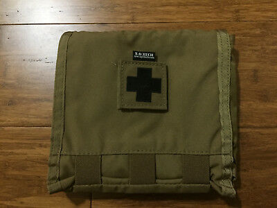S.O. Tech sotech Viper IFAK LE A1 flat first aid kit molle coyote brown seal